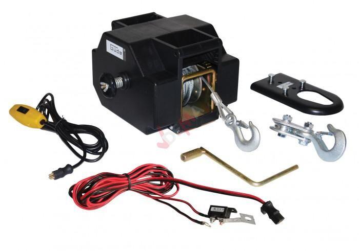 Guede Treuil électrique 1800 kg / 12 V