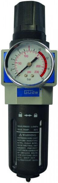 """Guede Réducteur de pression avec filtre récupérateur eau 3/8"""""""