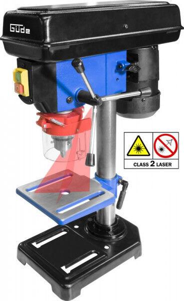Guede Perceuse à colonne pour établi GTB 16 Laser / 550 W