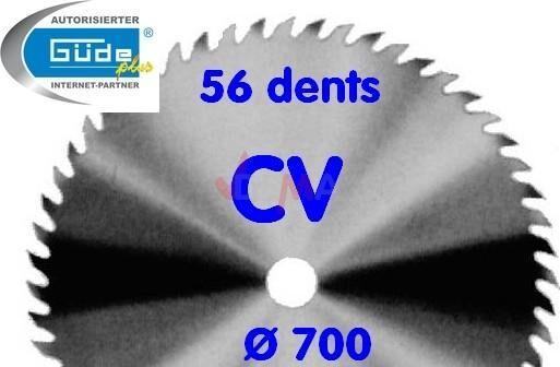 Guede Lame de scie à bûches G01846-G01840 - G01722 - chrome vanadium