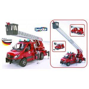 Bruder Mercedes Bruder Sprinter Camion de pompier son et lumière pompe à eau - Publicité