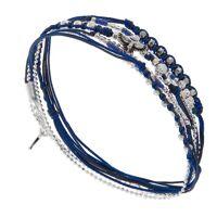 Doriane Bracelet multitours aigle bleu nuit, Doriane  Doriane <br /><b>75 EUR</b> Jollia