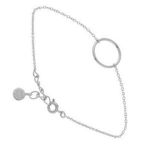 Lucky Team Bracelet chaine et cercle (argent), Lucky Team Lucky Team - Publicité