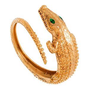 Jollia Manchette crocodile (plaqué or) - LA2L - Publicité