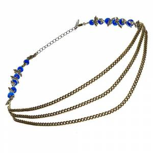 Secrets de cailloux Headband Sophora (bleu)  Secrets de cailloux