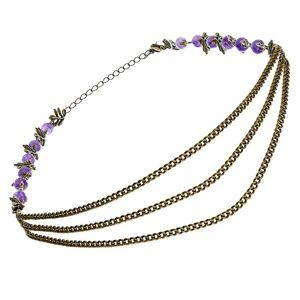 Secrets de cailloux Headband Sophora (violet)  Secrets de cailloux