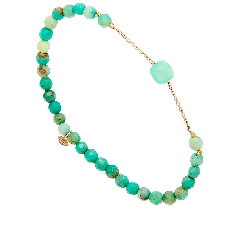 Jollia Bracelet briolette (vert - Senzou