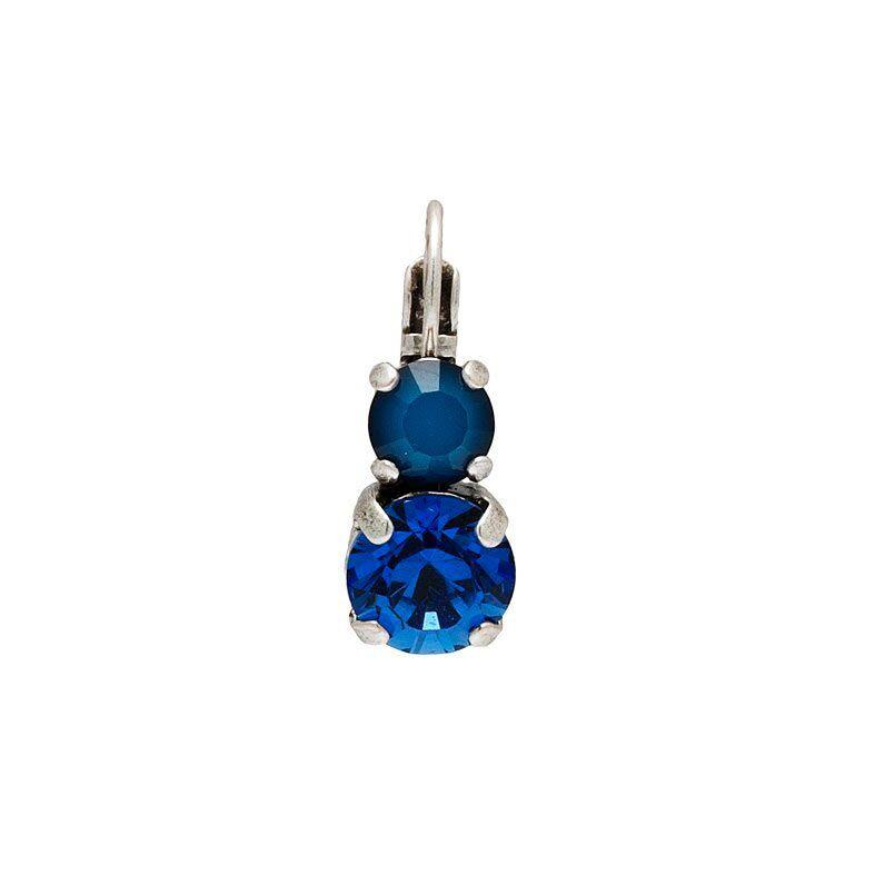 Jollia Boucles d'oreille Cristal Pure (bleu) - Vogler