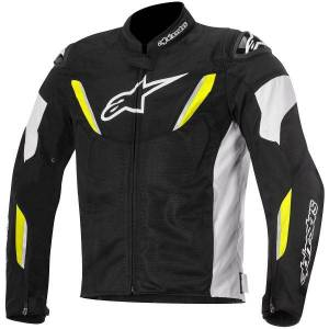 Alpinestars T-GP R Air Black White Yellow Fluo