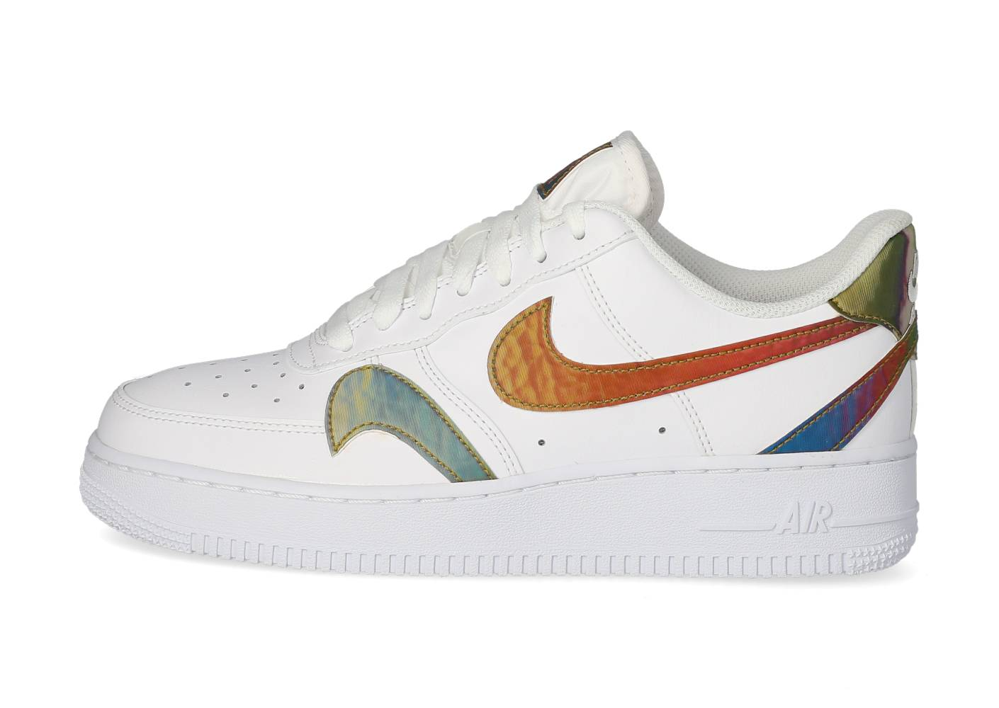 Nike Homme Air Force 1'07 Lv8 Multi Swoosh Blanche Baskets 44