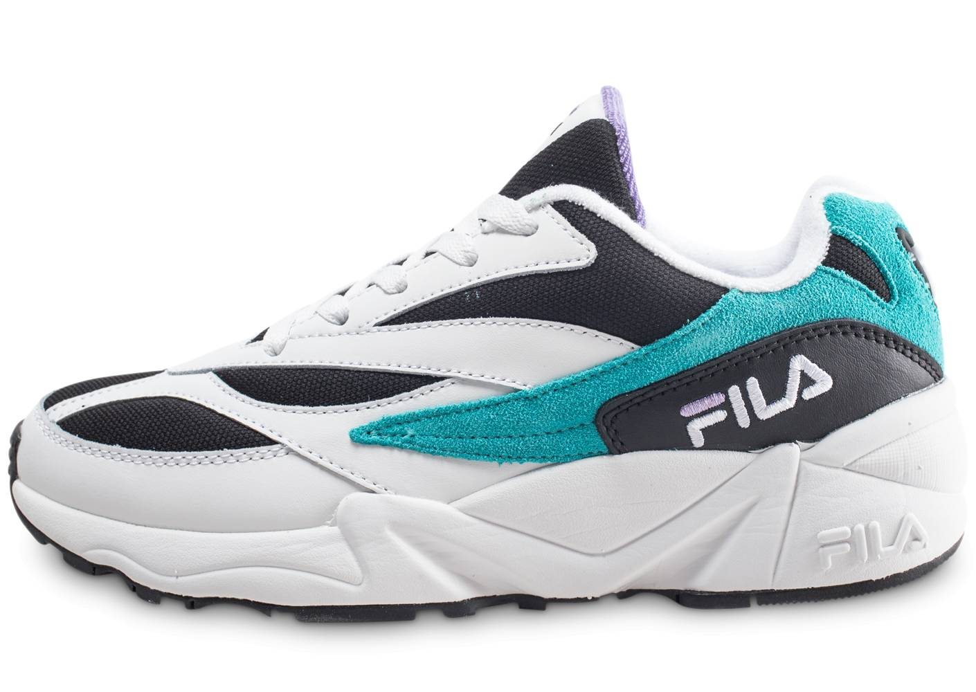Fila Homme 94 Low Bleu Baskets