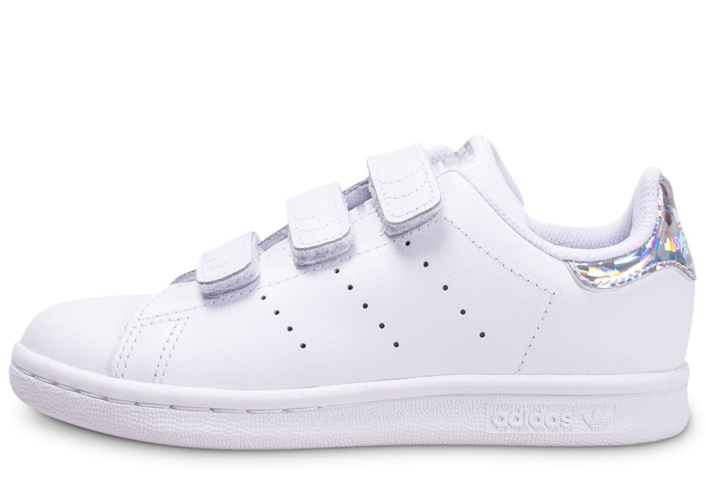 adidas Baskets adidas Stan Smith Blanche Diamant Enfant 35