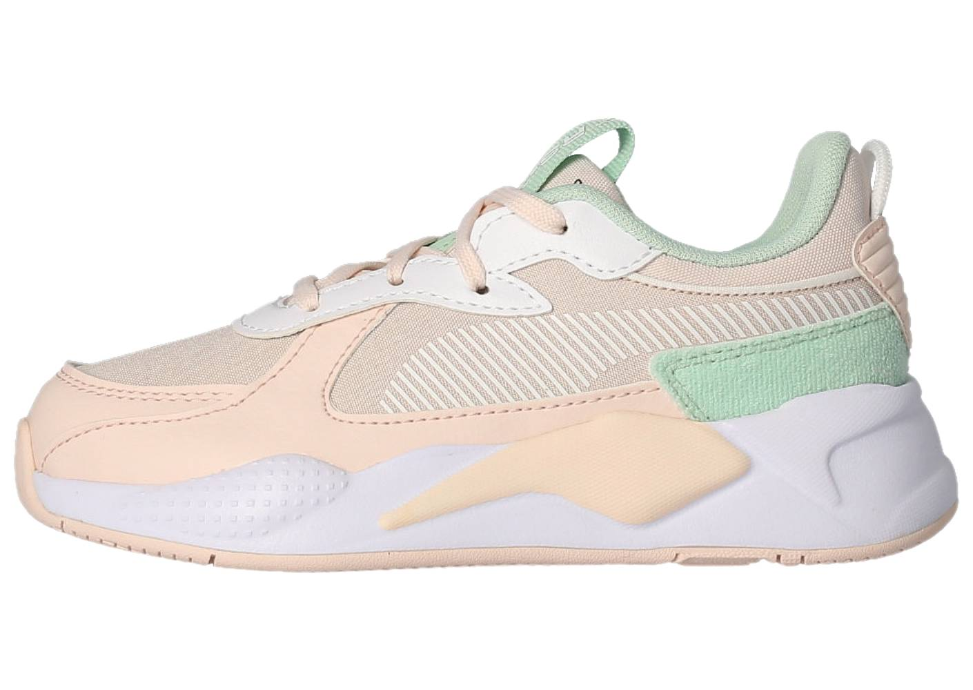 Puma Running Puma Rs-x Collegiate Rose Blanc Vert Enfant 35