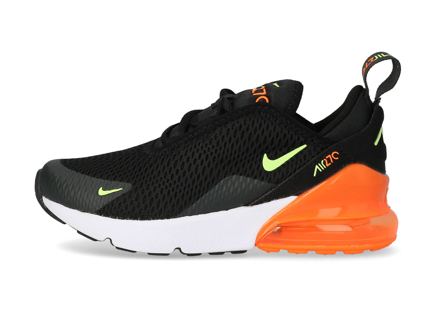 Nike Running Nike Air Max 270 Noir Orange Et Vert Enfant 35