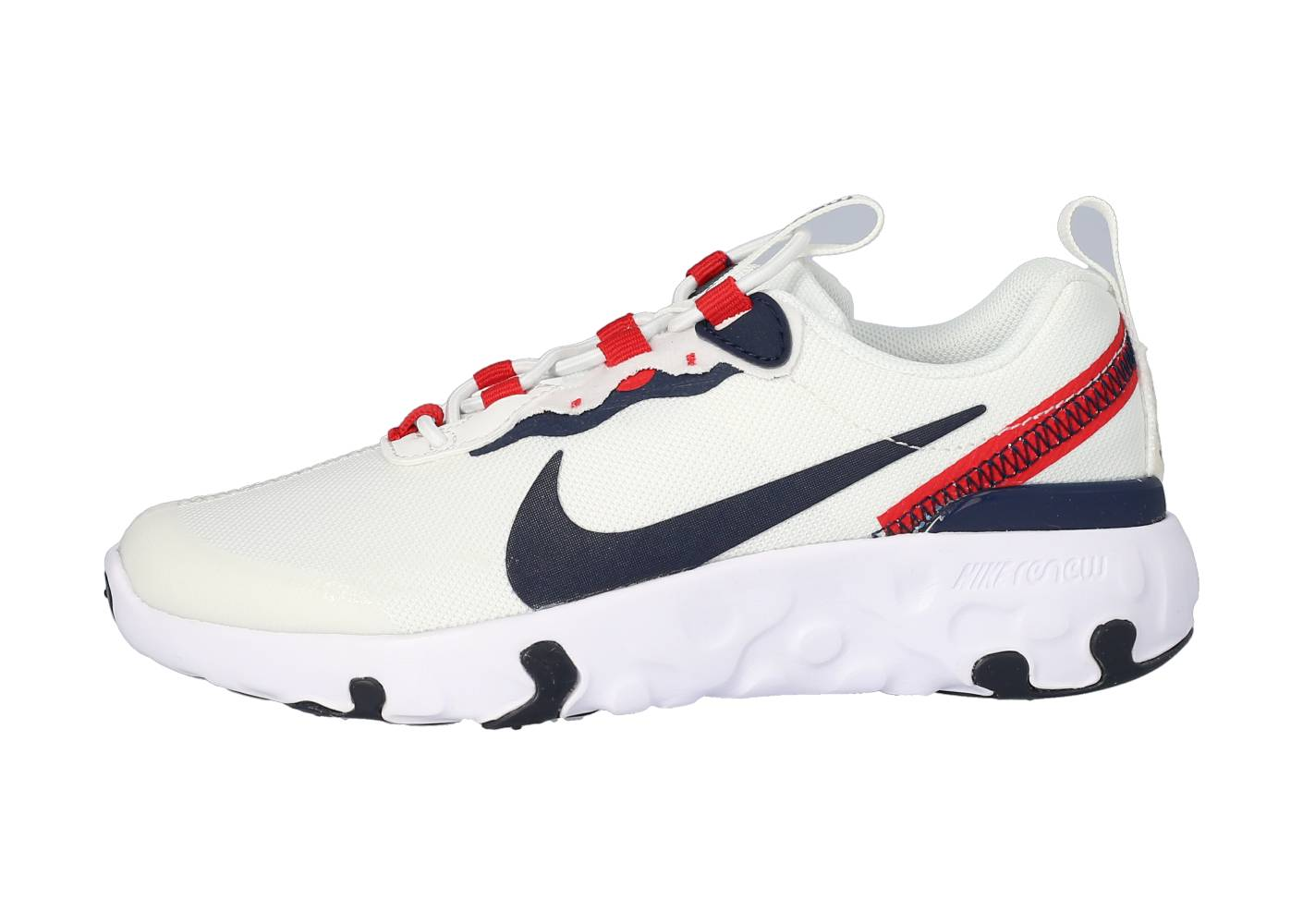 Nike Enfant Renew Element 55 Blanche Et Rouge Ps Running 35