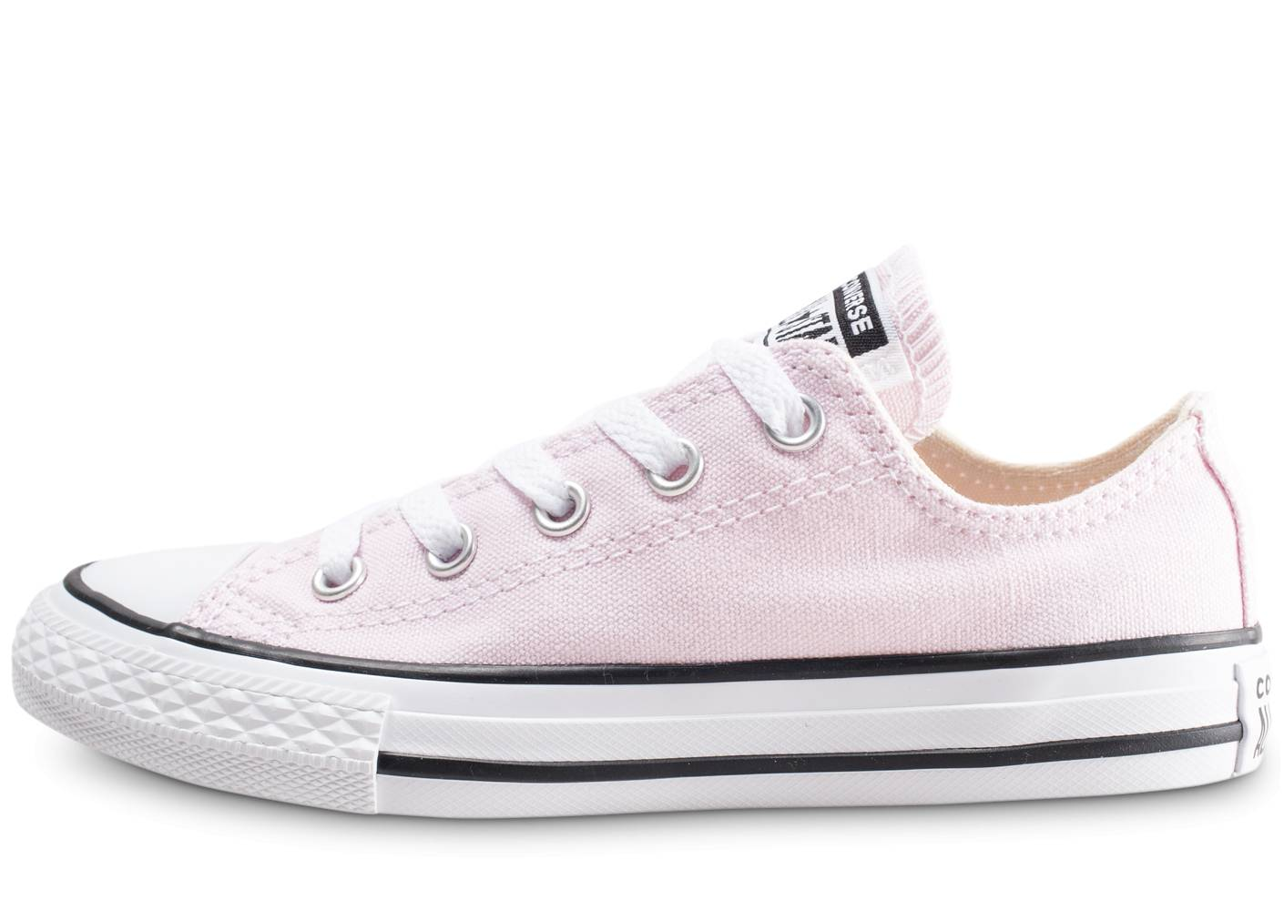 Converse Baskets Converse All Star Ox Cvs Rose Enfant 35