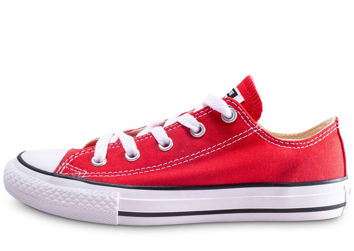 Converse Baskets Converse Chuck Taylor All Star Enfant Basse Rouge 35