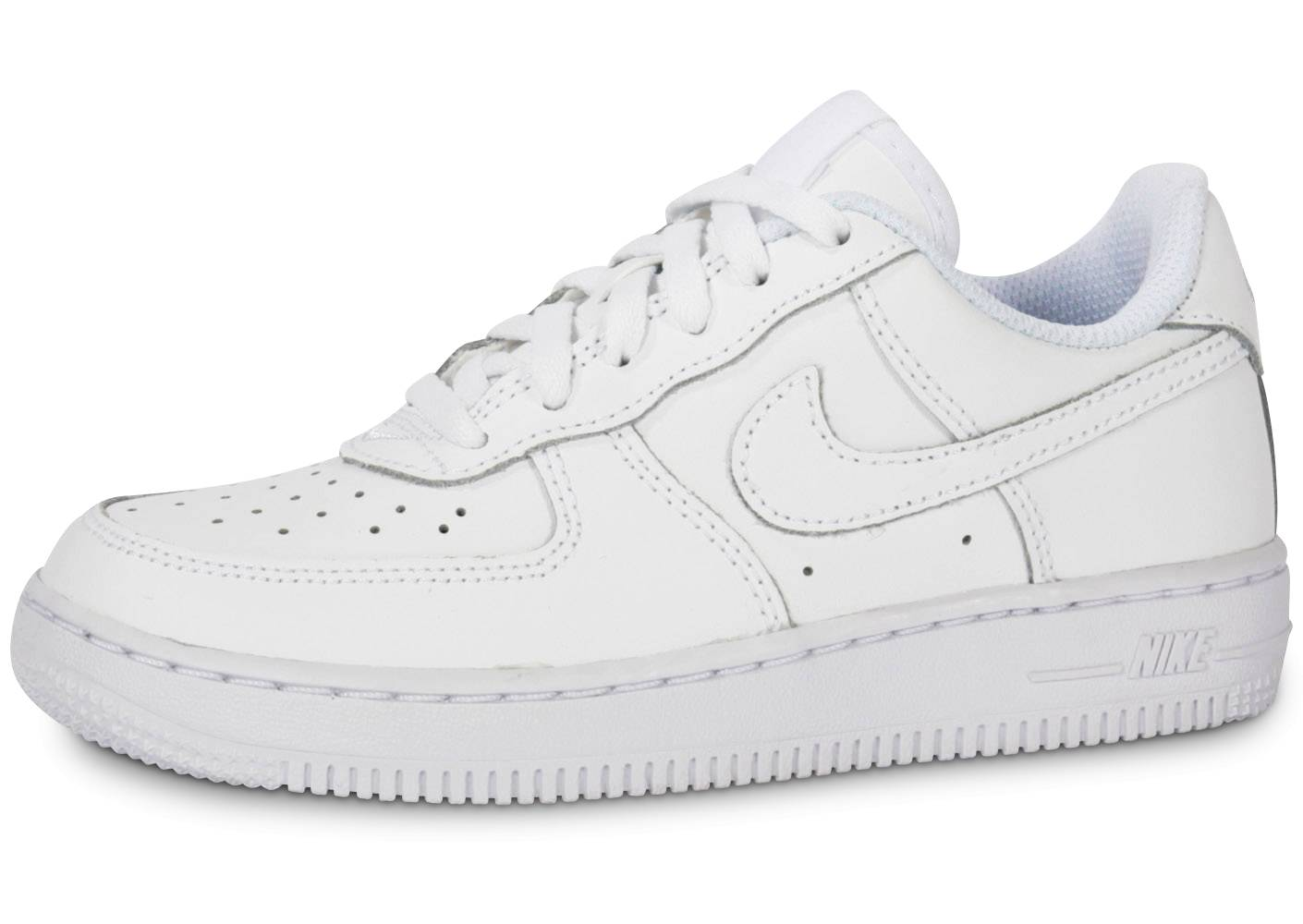 Nike Baskets Nike Air Force 1 Enfant Blanche 35