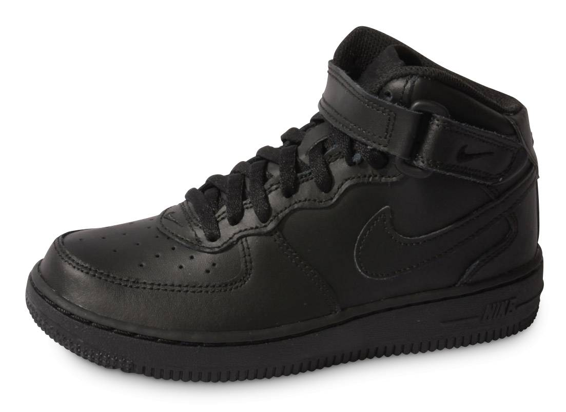 Nike Baskets Nike Air Force 1 Mid Enfant Noire 35