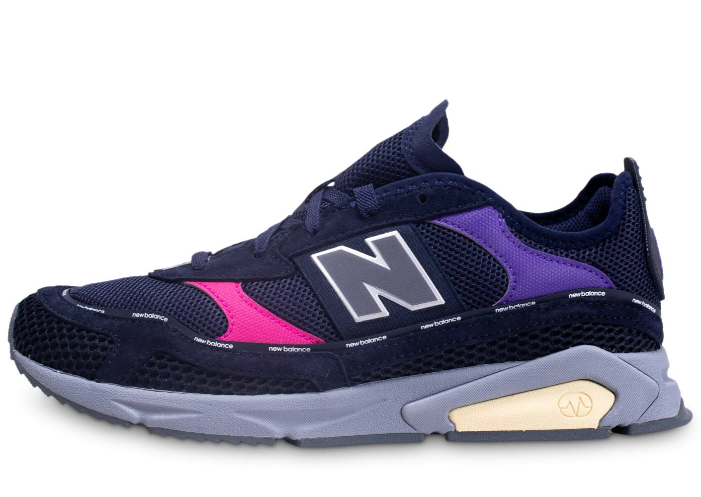 New Balance Homme Ms-x Racer Bleu Baskets 41 1/2