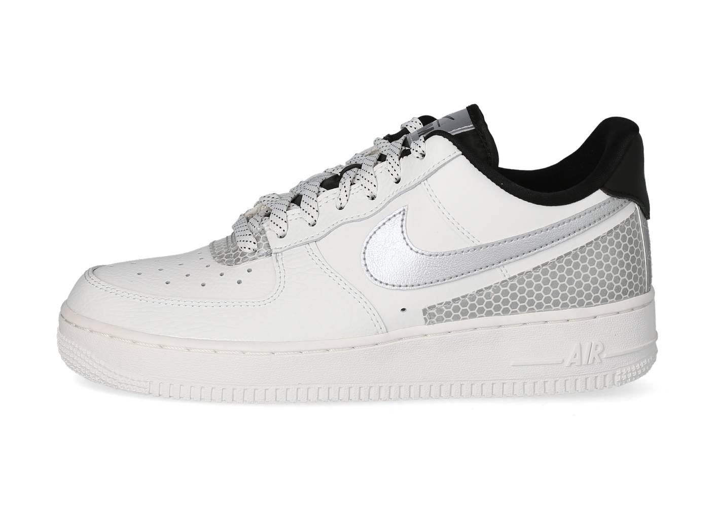 Nike Homme Air Force 1 Lv8 3m Blanche Baskets 47 1/2
