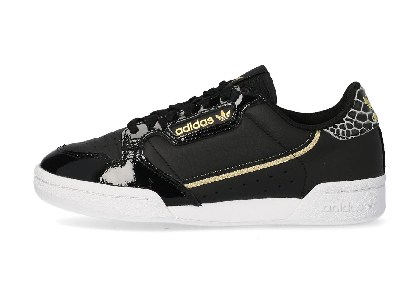 adidas Tennis adidas Continental 80 Noire Et Or Femme 40