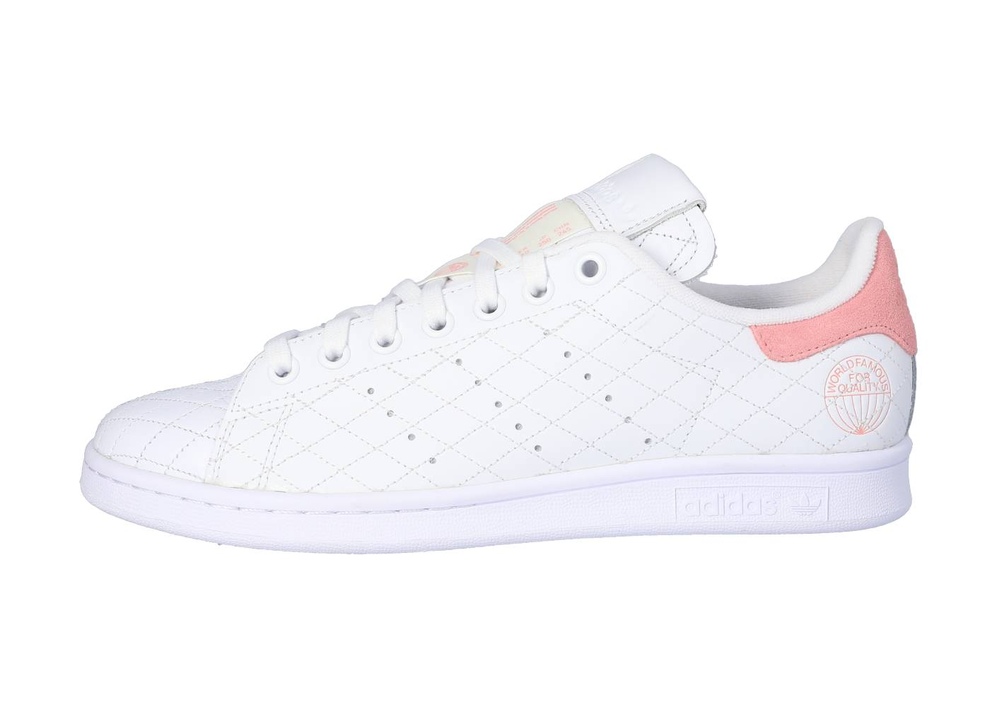 adidas Femme Stan Smith Cloud White Glory Pink Tennis 36 2/3