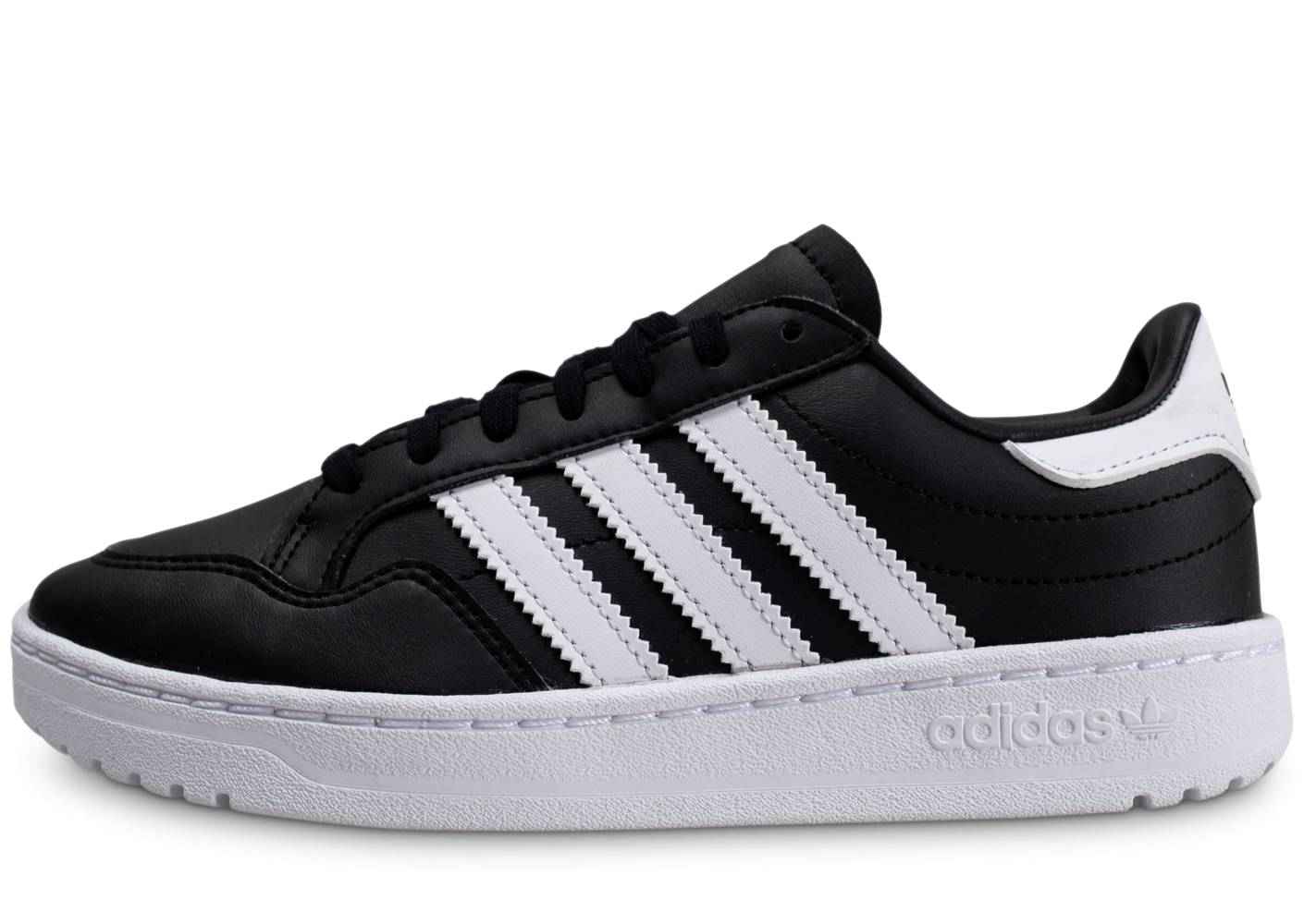 adidas Enfant Team Court Noir Blanc Junior Tennis 38 2/3