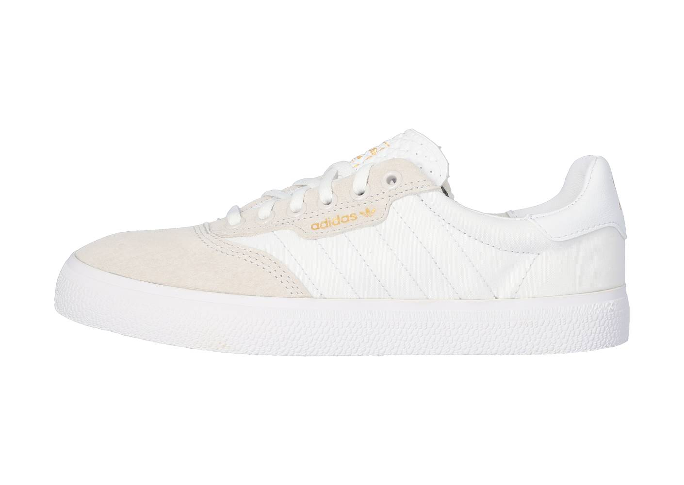 adidas Homme 3mc Blanche Et Or Skate 41 1/3