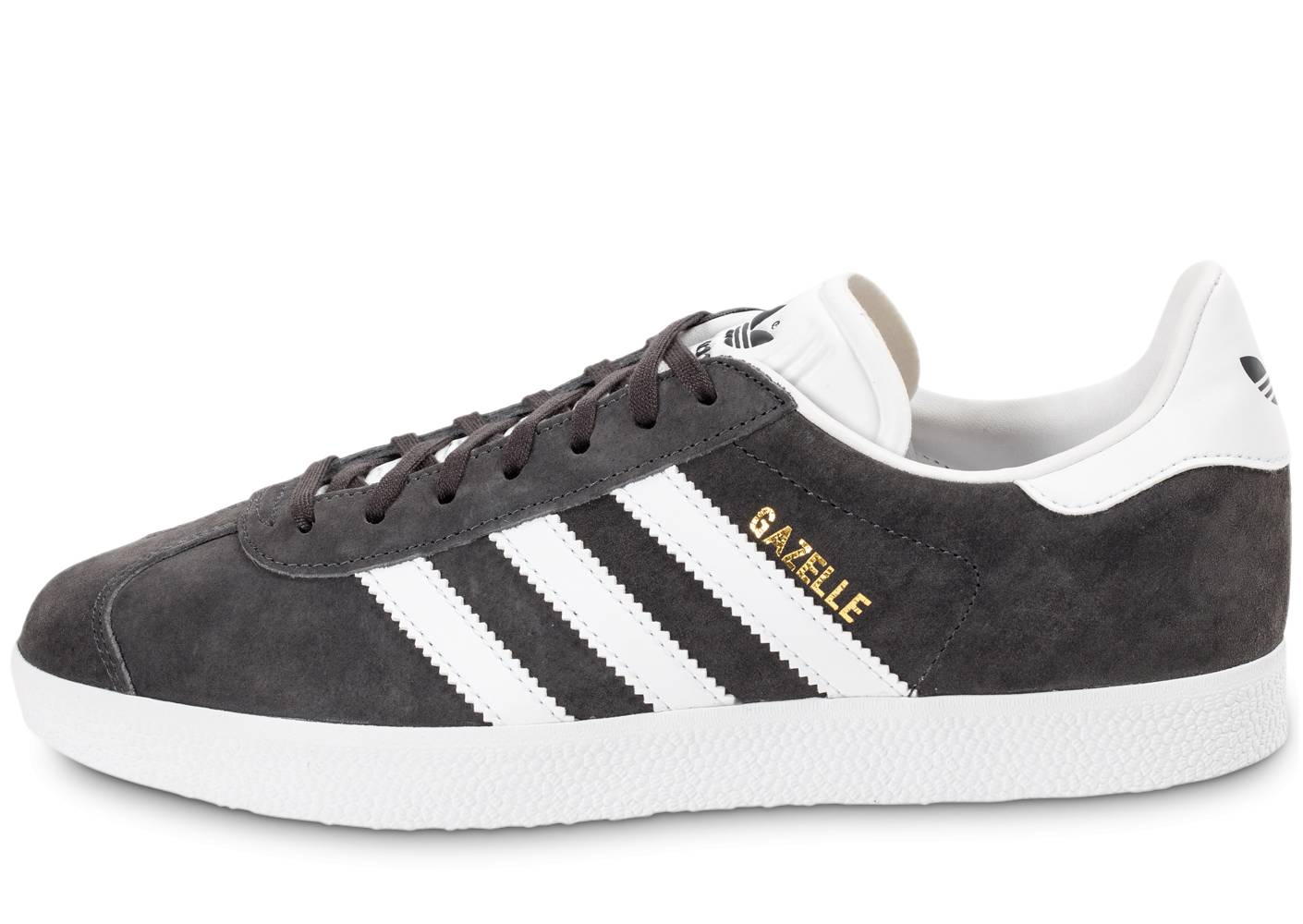 adidas Homme Gazelle Anthracite Baskets 44