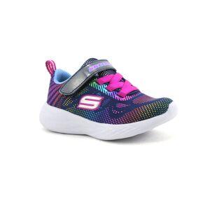 Skechers Basket Enfant Skechers - Bleu,Bleu ciel,Jaune,Or,Orange,Rose,Rouge,Vert,Violet - Point. 23,24,25,26,27,28,29,30