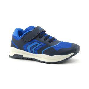 Geox Basket Enfant Geox - Bleu,Bleu ciel - Point. 28,29,30,31,32,33,34,35,36,37,38,39