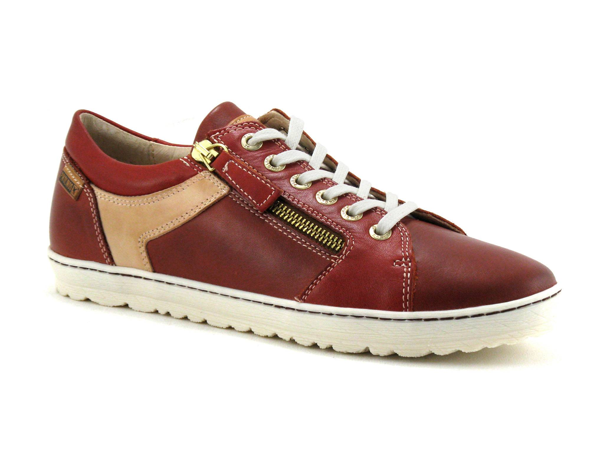 Pikolinos Chaussure basse / Derby Femme Pikolinos - Bordeaux,Rouge - Point. 36,37,38,39,40,41