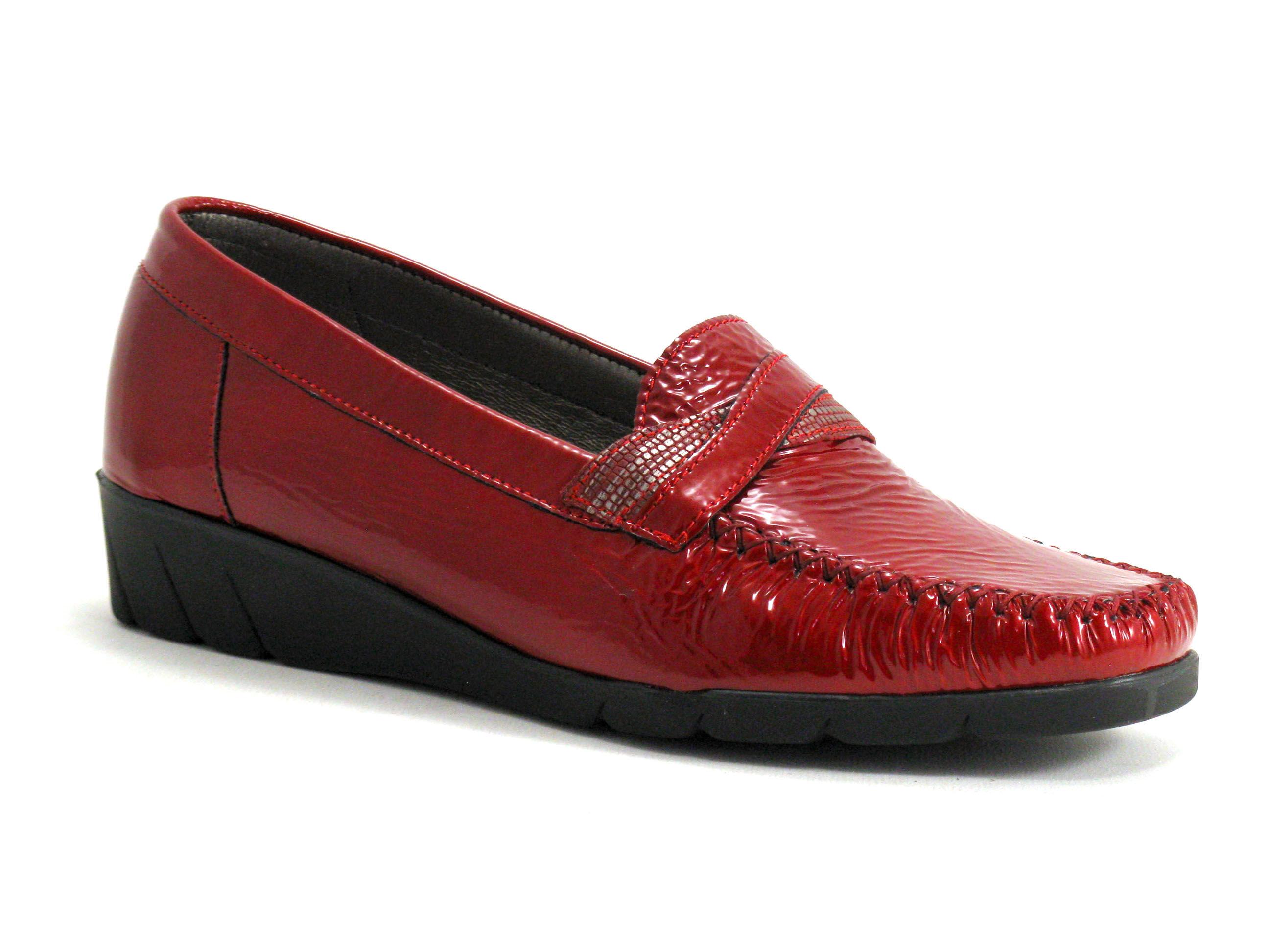 Pedi Girl Chaussure basse / Derby Femme Pedi Girl - Bordeaux,Rouge - Point. 36,37,38,39,40,41