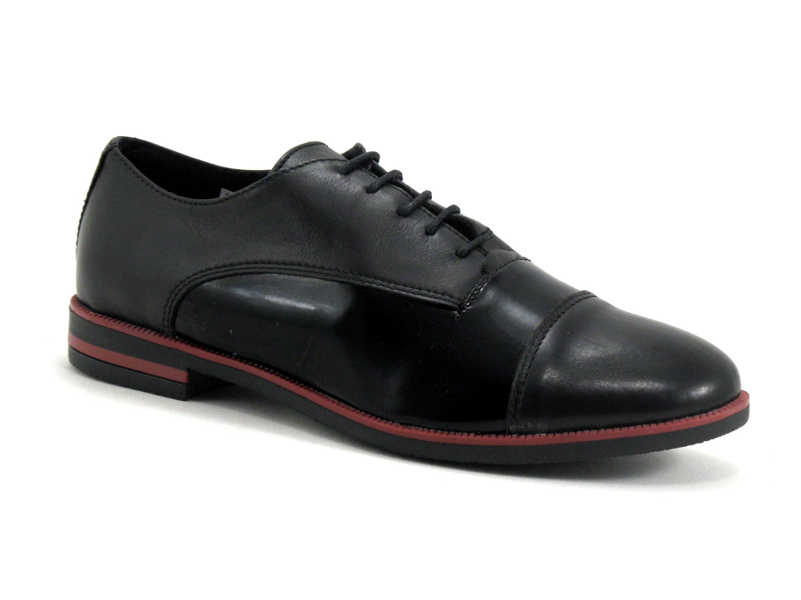 Moran's Chaussure basse / Derby Femme Moran's - Noir - Point. 36,37,38,39,40,41