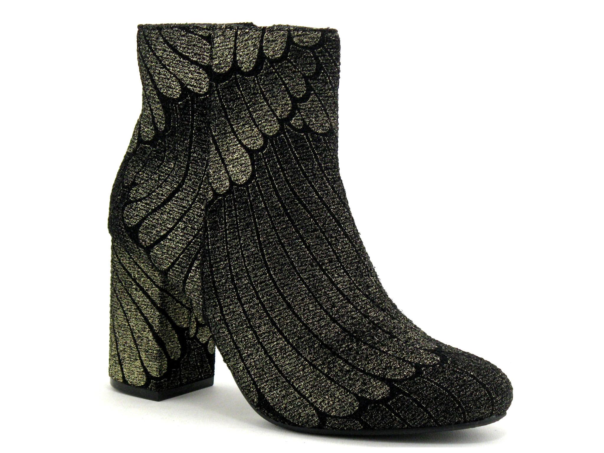 Enza Nucci Boots Femme Enza Nucci - Bronze,Noir,Or - Point. 36,37,38,39,40,41