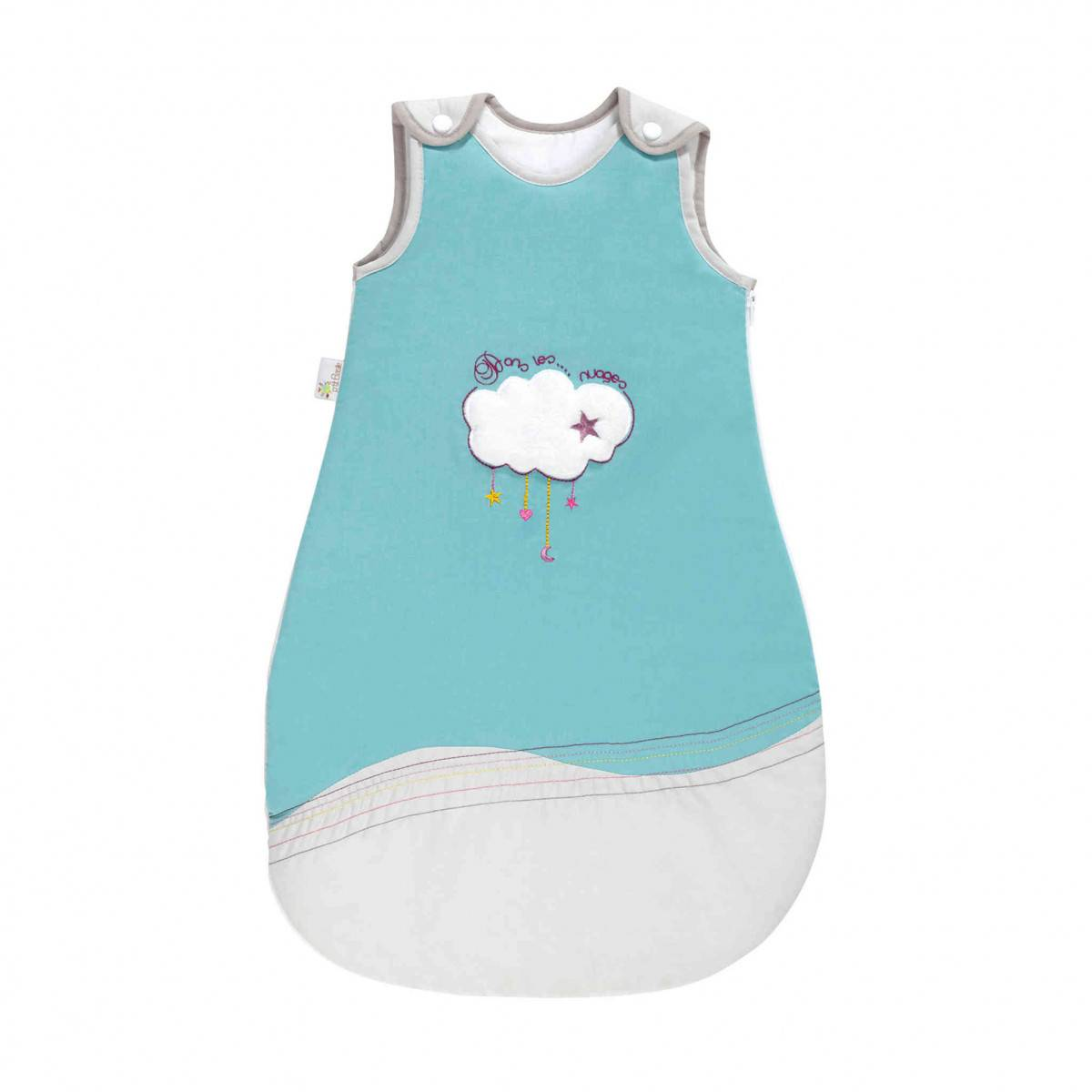 Ptit Basile Gigoteuse bébé coton bio Dans les nuages 0-6 mois