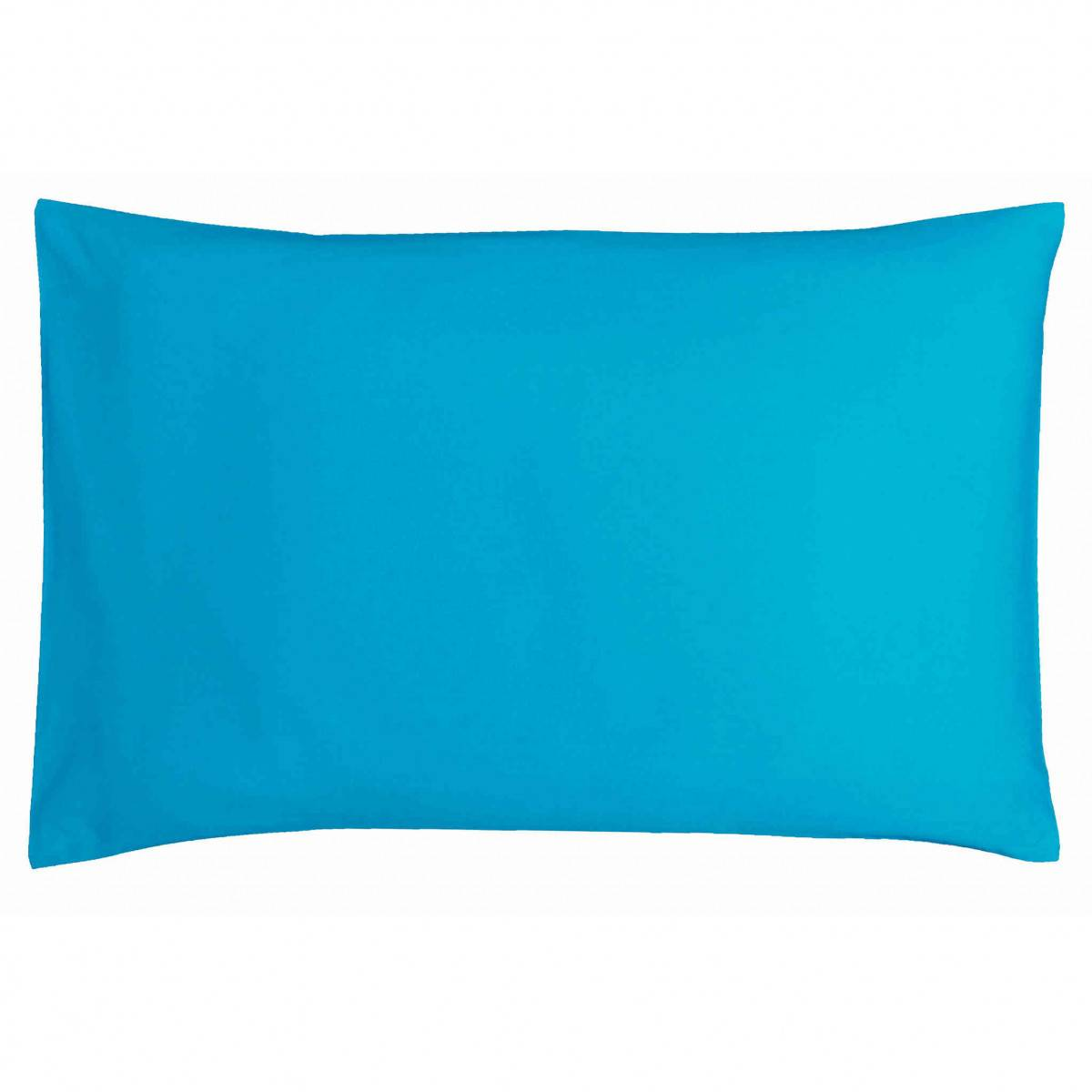 Ptit Basile Taie d'oreiller bébé coton bio bleu 40x60