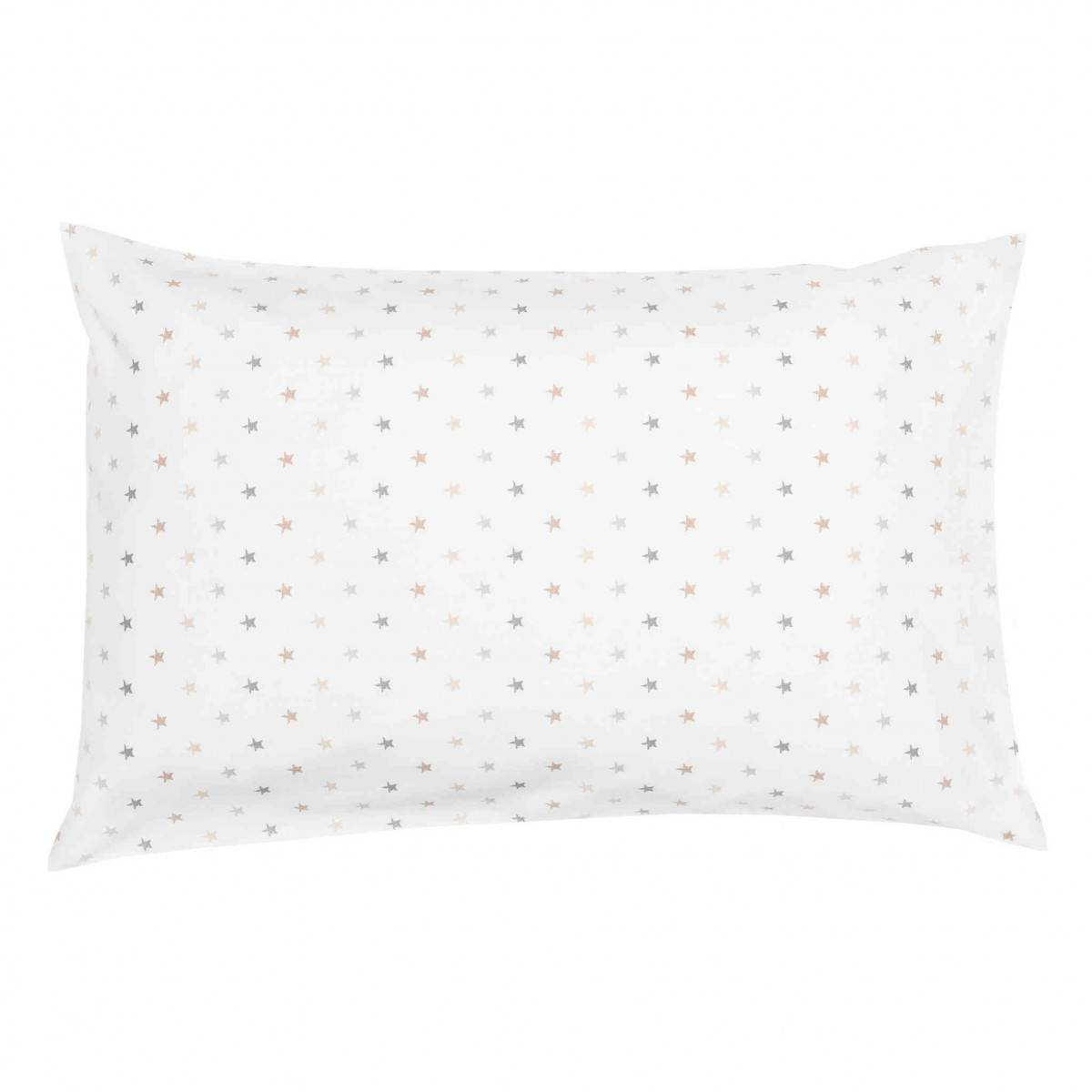 Ptit Basile Taie d'oreiller bébé coton bio mini étoiles 40x60 cm