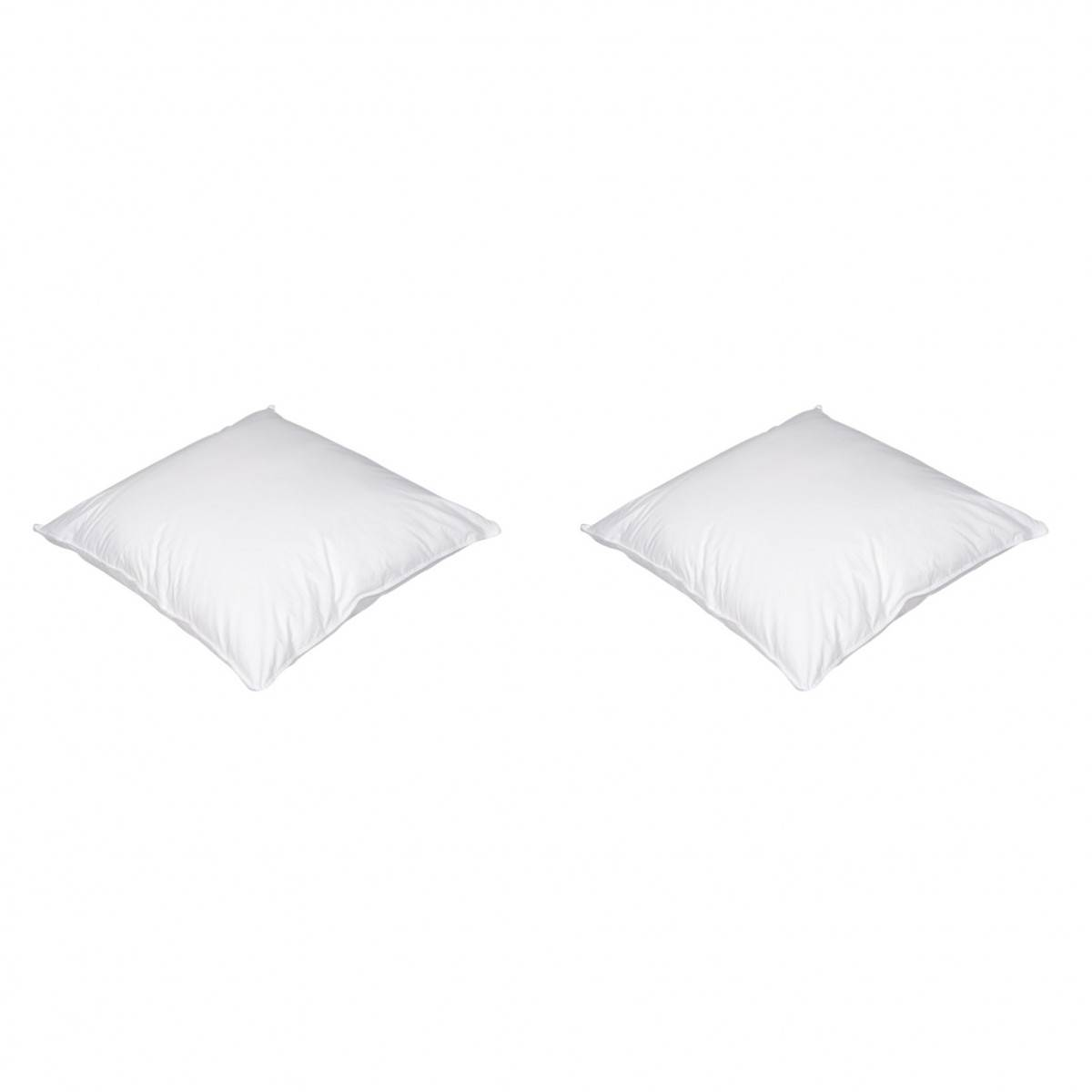 Someo Lot de 2 oreillers luxe enveloppe percale anti-acariens SOMEO 50x70