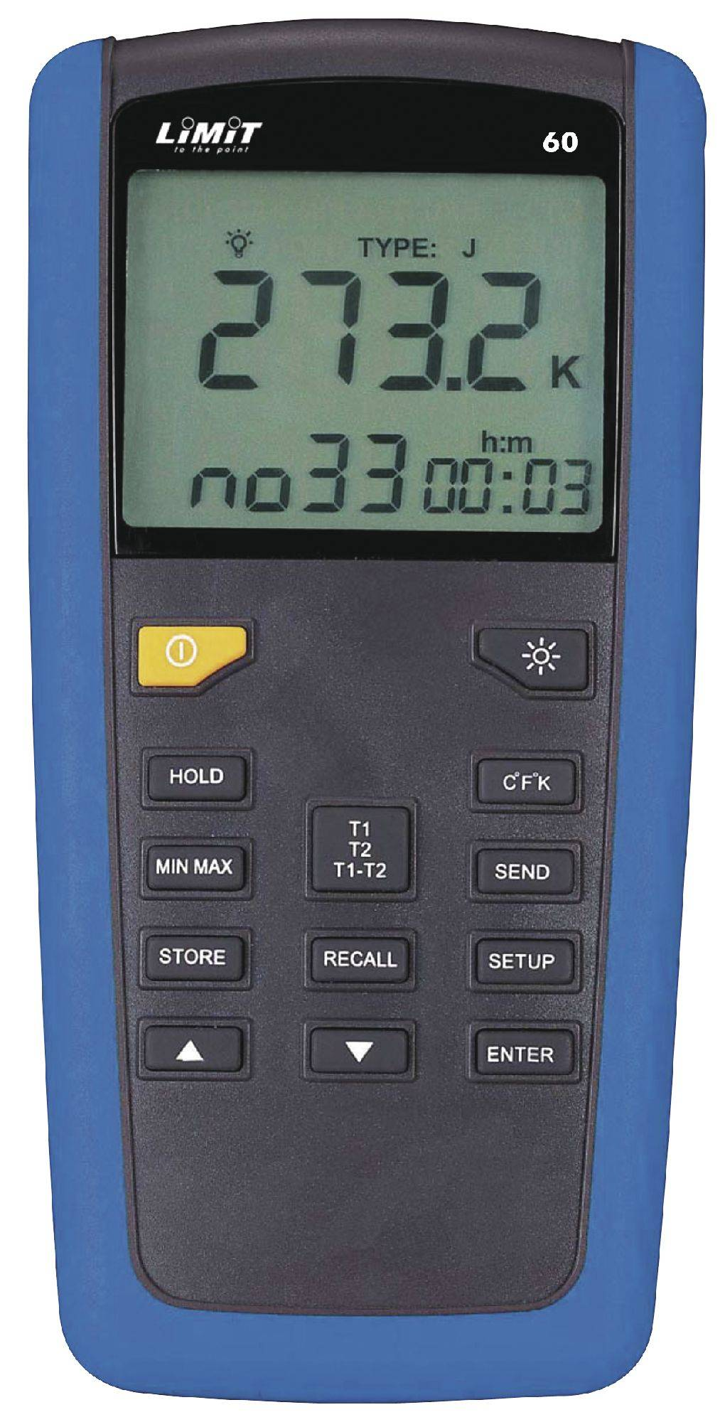 Limit Thermomètre industriel digital -10° à +50°C Limit LIMIT60