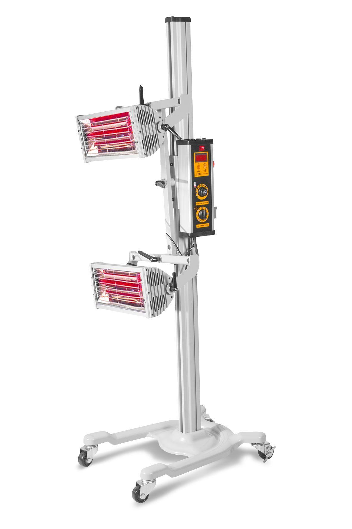 Mw-tools Sécheur de peinture infrarouge professionnel mobile 2000 W MW-Tools LD2
