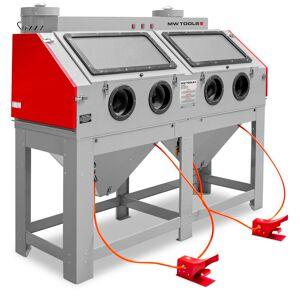 Mw-tools Cabine de sablage professionnelle double 880l avec aspiration MW-Tools CAT880 - Publicité