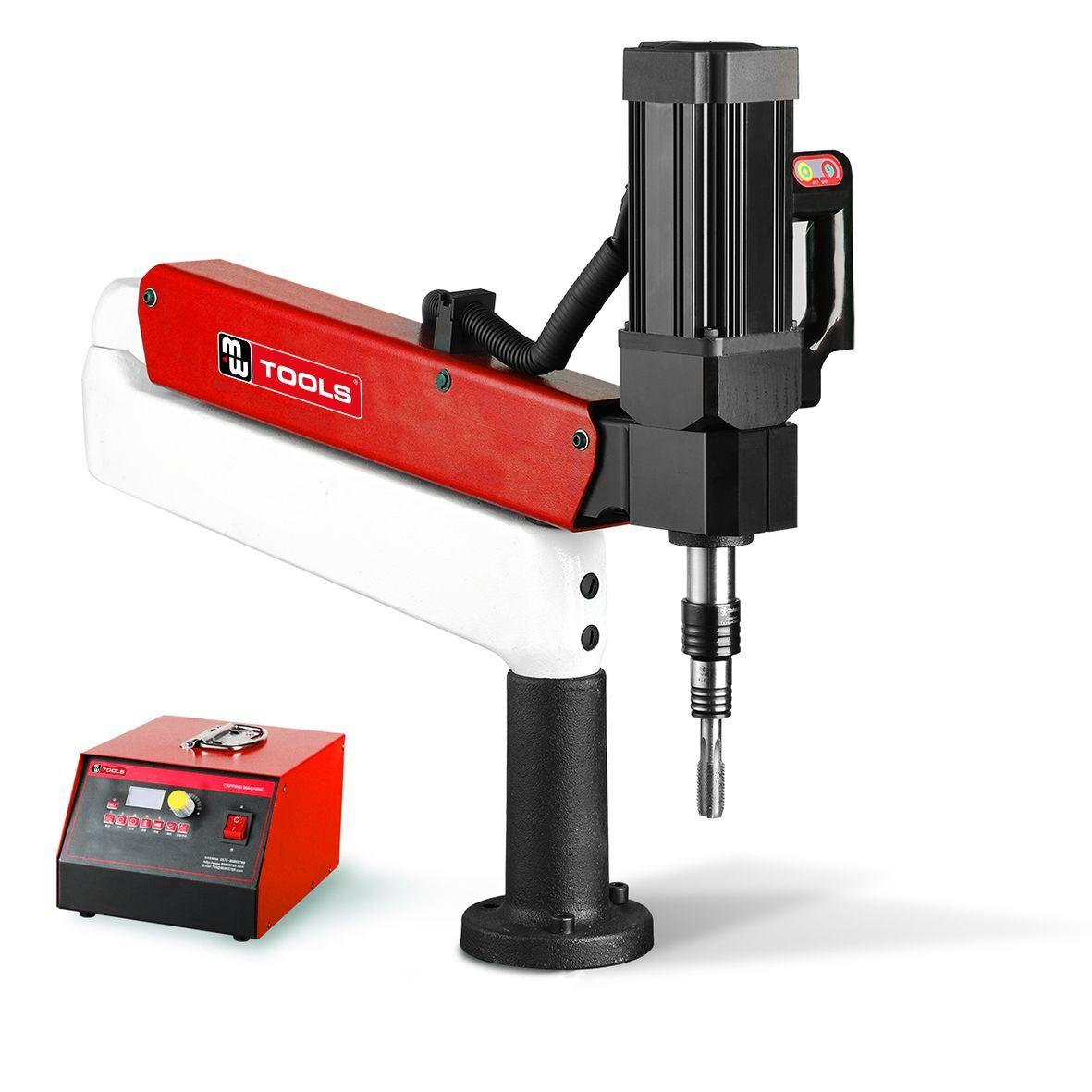 Mw-tools Bras de taraudage électrique M2-M12 230V 1,2kW + 6 douilles MW-Tools ETA12915