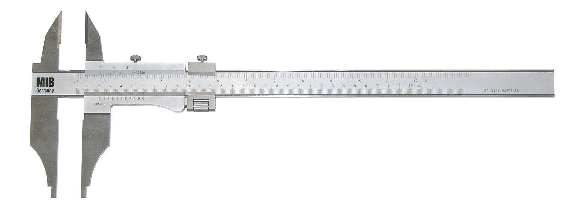 Limit Pied à coulisse à double becs métrique / inch Limit CALI258