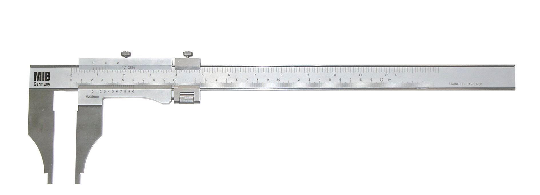 Limit Pied à coulisse à vernier, réglage fin, métrique et inch Limit CAZF315