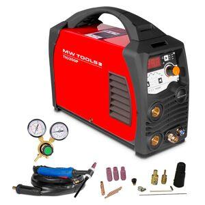 Mw-tools Poste à souder inverter TIG 200A - HF - manomètre inclus MW-Tools TIG200P - Publicité