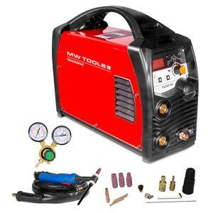 Mw-tools Poste à souder inverter TIG 200A AC et DC - HF - manomètre inclus MW-Tools TIG200PAC - Publicité
