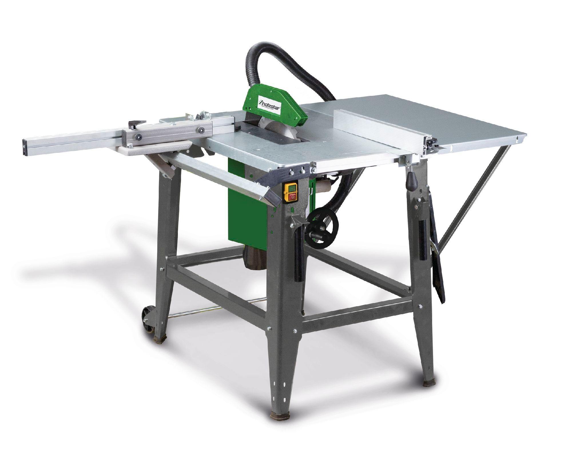 Holzstar Scie à table mobile pour le bois - ø 315 mm Holzstar TKS316E230V