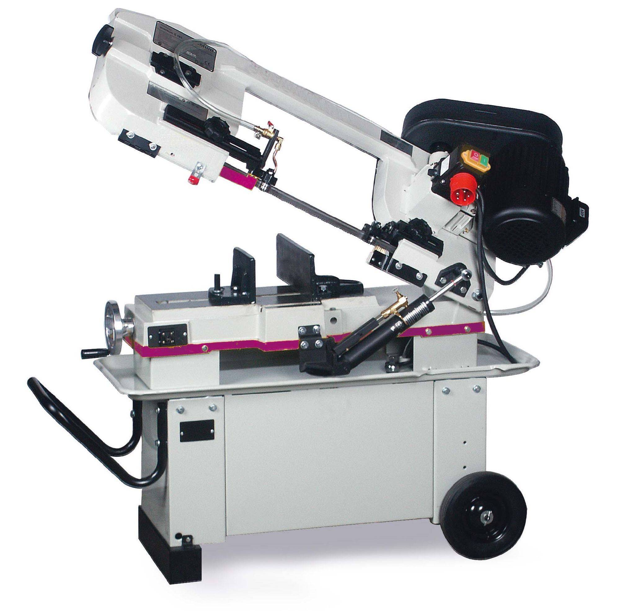 Optisaw Scie à ruban mobile - ø 178 mm - courroie - 230V OptiSaw S181-230V